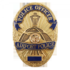 Airport Police Badge