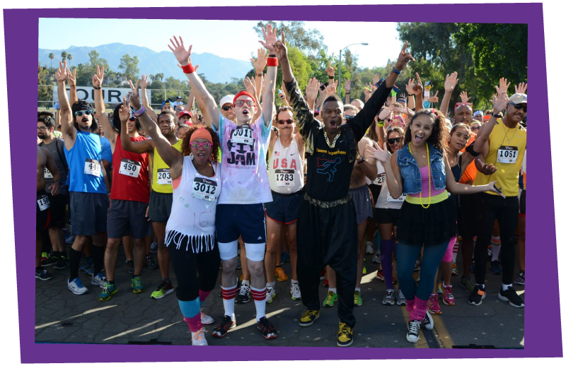 Awesome 80s Run Pasadena