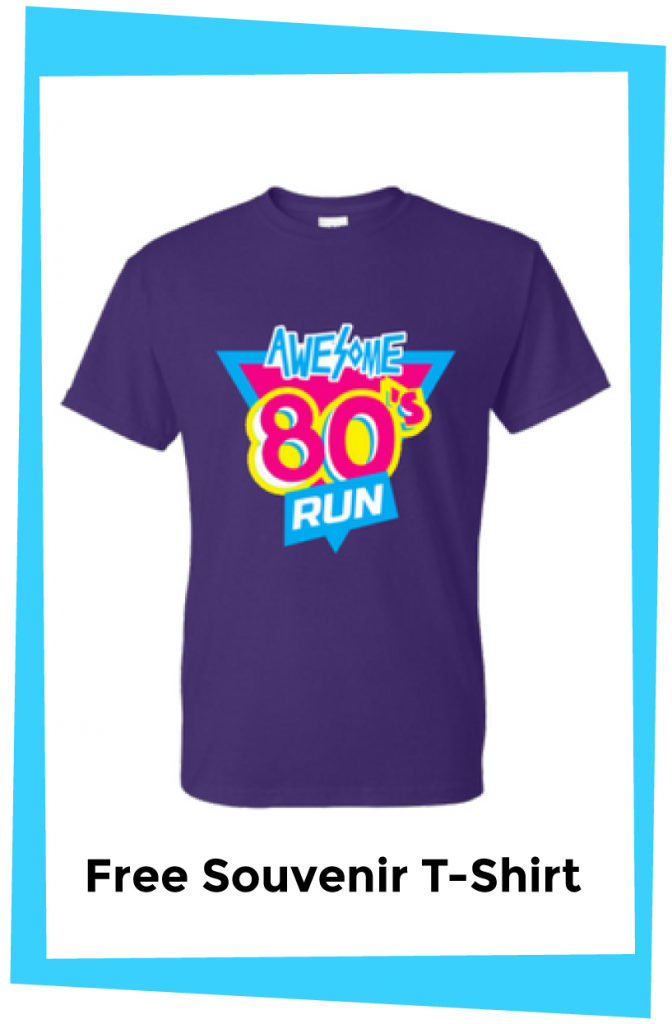 Awesome 80s Free Souvenir T-Shirt